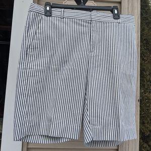 Women's Banana Republic Striped Shorts Size 8